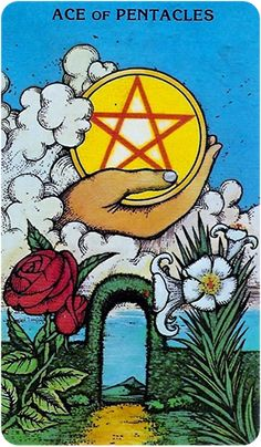 Free Daily Tarotscope — Jul 7, 2015 — Ace of Pentacles -- Today is a good day to be counting your blessings and focusing on attracting more of the same into your life. (more)...