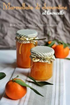 La ricetta della felicità: Marmellata di clementine al limoncello