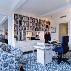 Office - contemporary - home office - new york - ZMK Group, Inc