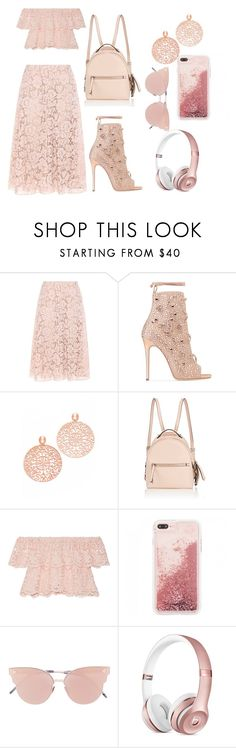 """Untitled #114"" by alexandrapopa-252002 ❤ liked on Polyvore featuring Valentino, Giuseppe Zanotti, Bronzallure, Fendi, Miguelina and So.Ya"