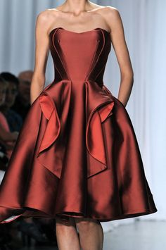 New York Fashion Week  Zac Posen Spring/Summer  2014 Collection