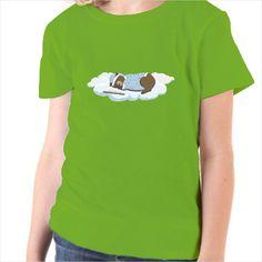 Camiseta infantil oso durmiendo