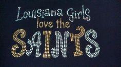 New Orleans Saints Girls Love Them