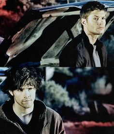 Dean and Sam Winchester - like Arthur and Lancelot