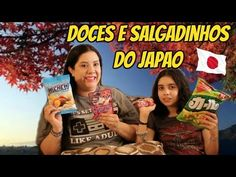 Experimentando salgadinhos e doces do Japao | iloveluly - YouTube