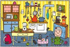 láminas coloridas para trabajar atención, vocabulario, percepción, etc.