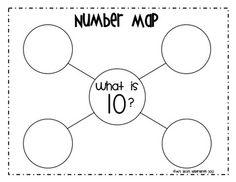 Number Maps 0-10 (Common Core) - Mrs. Ricca's Kindergarten - TeachersPayTeachers.com