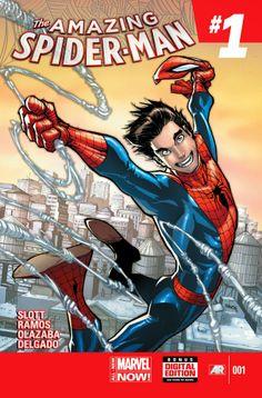 Vecchio Logan: Preview: Amazing Spider-Man #1 - 500000 copie ordi...