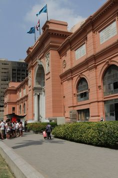 Egyptian Museum - Egyptian Museum, Cairo, Egypt. Houses the world's most extensive collection of ancient Egyptian antiquities, including the treasures of Tutankhamen. Over 150,000 artifacts. (y)