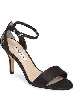 Main Image - Nina 'Venetia' Ankle Strap Sandal (Women)