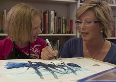 Woman uses passion for painting in new therapy