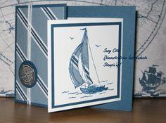 Joy Fold Card with Sail Away