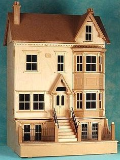 Sid Cooke Edwardian dollshouse. Beautiful design and detail.  .....Rick Maccione-Dollhouse Builder www.dollhousemansions.com.