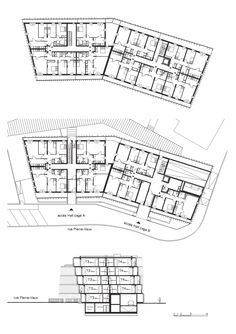 CHL Social Housing / O-S Architectes