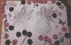 Morpheus and Alyssa in Wonderland by Alynn