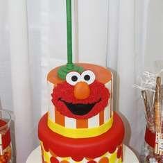 Hugo's 1st Birthday - Elmo