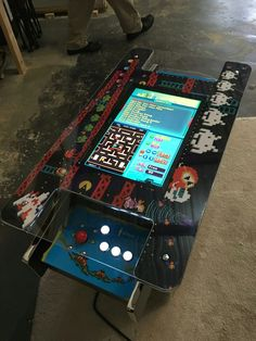 19 best arcade coffee table images arcade table board games rh pinterest com
