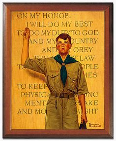 Boy Scouts must live by this oath of high moral character.  He learns to make wise choices.