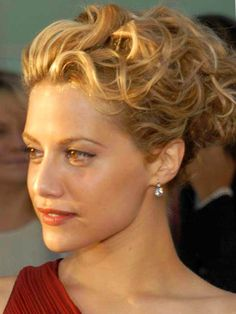 Medium Length Hair Curly Updo Hairstyles