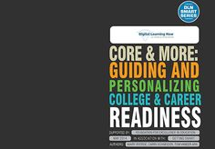 Core & More: Guiding and Personalizing College & Career Readiness #smartseries #gettingsmart #nextgened