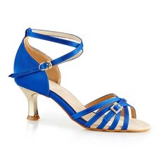 Smuk og indbydende dansesko i kongeblå satin og guld-metallic hæl fra NDS - Nordic Dance Shoes. Denne dansesko NDS2006 Fashion er en blød og meget behagelig, fleksibel dansesko i super kvalitet!  Forhandles hos Nordic Dance Shoes: http://www.nordicdanceshoes.dk/nordic-dance-shoes-nds2006-konge-blaa-satin-dansesko#utm_source=pin