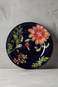 Slide View: 1: Bellina Blooms Side Plate