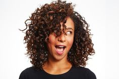 Not sure how to style your curly or coily hair? Or how to define your curls, eliminate dry ends, prevent frizz, and more? Check out these curl products and tricks, below. Curly Hair Tips, Short Curly Hair, Curly Girl, Wavy Hair, Curly Hair Styles, Natural Hair Styles, Kinky Hair, Thick Hair, Caring For Curly Hair