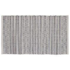 """HFLT Sahara Jacquard Natural/Gray Area Rug Rug Size: 2'3"""" x 3'9"""""""