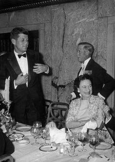 JFK with the Duke & Duchess of Windsor.