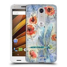 Official Stephanie Law When Flowers Dream Immortal Ephemera Hard Back Case for DROID Turbo 2 / X Force