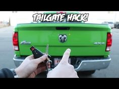 $20 Tailgate HACK Everybody NEEDS To Know!!! in City 47907 West Lafayette IN Browse More Latest Dodge Owners Community Posts, News & Videos at BlueDodge.com 2016 Ram 1500 Accessories, Cool Car Accessories, Ram Trucks, Ford Trucks, Chevrolet Trucks, Diesel Trucks, Chevrolet Impala, Chevrolet Silverado, Lifted Trucks