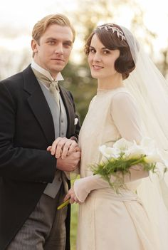 Mary-and-Matthew-Crawley-Wedding-downton-abbey-32