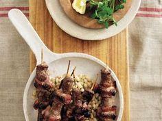 Die beste kerriesosaties Kebabs, Beef, Food, Meat, Kabob, Essen, Meals, Kabobs, Yemek