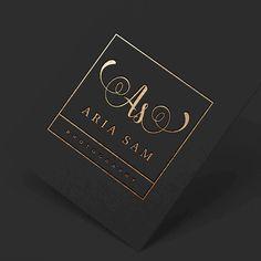Square Logo, Business Stamp Logo, Elegant Logo, Minimalist Logo, Gold Glitter Logo, Handwritten Logo, Calligraphy Logo, Gold Business Logo by WithPassionDesign on Etsy https://www.etsy.com/listing/288006589/square-logo-business-stamp-logo-elegant