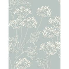 This is lovely would go with everything and even has birds on it buy john lewis cow parsley wallpaper online at johnlewis gumiabroncs Image collections