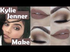 Makeup Tutorial Kylie Jenner para Iniciantes - Tutorial de Maquiagem Básica Cara de Rica - YouTube
