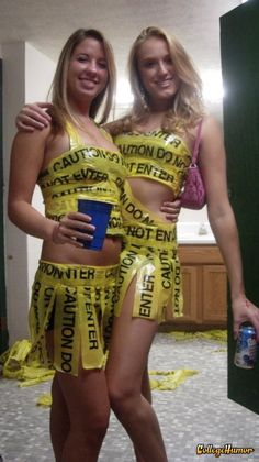 Anything But Clothes!Anything But Clothes! Abc Party Costumes, Adult Costumes, Anything But Clothes Party, Abc Birthday Parties, Halloween Party, Halloween Costumes, Halloween Outfits, Nascar Costume, Frat Parties