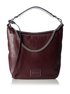Marc by Marc Jacobs Schultertasche Hobo (bordeaux)
