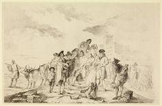 Francisco Goya (1746-1828), The blind guitarist, 1778. Print, 355 x 535 mm.