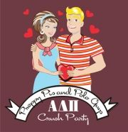 "Fun theme for Alpha Delta Pi Crush parties! ""Preppy Pis and Polo Guys"" :)"