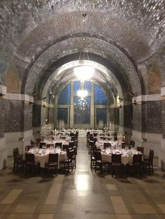 What a venue! Lutyens Crypt in Liverpool, Christmas 2012.
