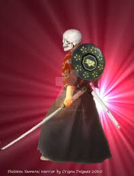 Image result for skeleton of samurai
