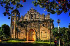 tangalan church 3 HDR  1889 built. Tangalan, Aklan, Philippines