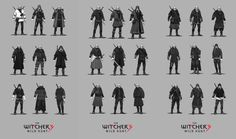 Geralt's armour illustrated in fresh The Witcher 3: Wild Hunt Concept Art