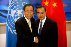 BEIJING, CHINA - JULY 7: U.N. Secretary-General Ban Ki-moon, left, shakes hands with Chinese Foreign Minister Wang Yi, right, at the Diaoyutai State Guesthouse on July 7, 2016 in Beijing, China. Ban's comments praising environmentalists and other activists were pointedly ignored by the Chinese media. (Photo by Mark Schiefelbein-Pool/Getty Images) Kudos [...]