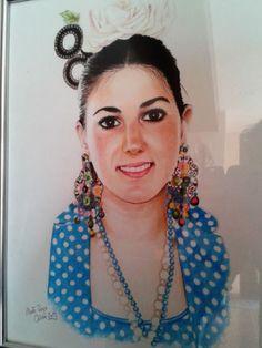 Ana flamenca. by Raspberryan.deviantart.com on @deviantART