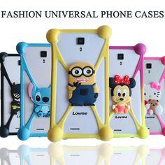 Cute Cartoon Batman Spongebob hello kitty Soft Silicon Case Cover for Haier W818 W716 W719 W757 W852 W858 W861 W867 W970 W990