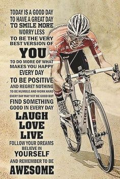 There are many different kinds and styles of mtb that you have to pick from, one of the most popular being the folding mountain bike. The folding mtb is extremely popular for a number of different … Bike Quotes, Cycling Quotes, Cycling Art, Road Cycling, Road Bike, Cycling Bikes, Mountain Bike Shoes, Mountain Biking, Velo Design