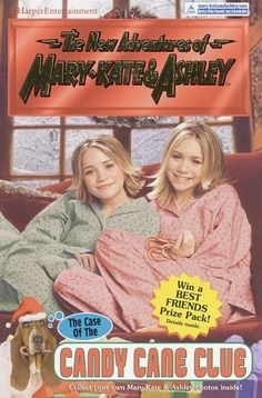 Mary-Kate and Ashley Collection * Fiction ~ The New Adventures of Mary-Kate & Ashley = The Case of the Candy Cane Clue '#32 - 2002