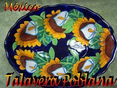 Talavera pottery of Puebla, Mexico is a type of majolica pottery who was brought to Mexico by the Spanish in the first century of the colonial period.